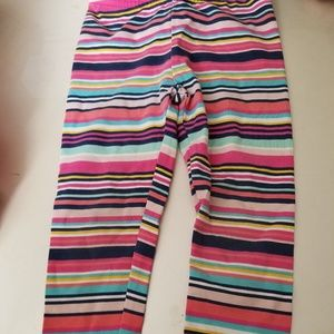 Carter's Girls Multi colored Strioed Pants 3T